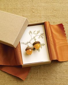 Great way to display. Packaged and ready to give as a gift to well-deserving you or a friend.  I love the fabric detail.