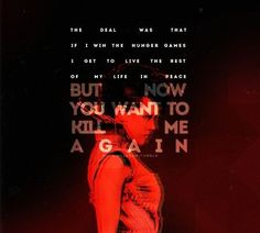 Hunger Games Quote / Catching Fire / Johanna