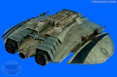 Galáctica - Cylon Raider - Galería (4) by Toromodel, via Flickr Kampfstern Galactica, Battlestar Galactica 1978, Sci Fi Models, Sci Fi Tv, Stars Craft, Space Crafts, Retro Futurism, Model Building, Spaceships