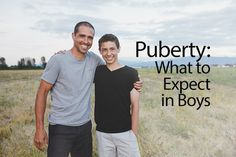 Puberty What to Expect in Boys #parenting