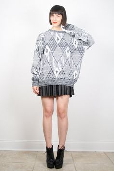 Vintage Gray Sweater Cosby Sweater Pullover by ShopTwitchVintage