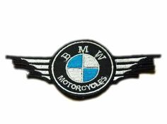 BMW Motorcycles Patches Wing Super Bike MotoGP Biker Back Patches, Leather Jacket Patches, Motorcycle Patches, Biker Clubs, Motorcycle Clubs, Harley Davidson Patches, Bmw R1200rt, Bicycle Rims, Bmw Cafe Racer