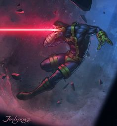 Marvel Character Fan Art - Created by Lee Jeehyung Comic Book Characters, Marvel Characters, Comic Character, Comic Books Art, Character Design, Marvel Comics, Dc Comics Art, Marvel Vs, Marvel Cyclops