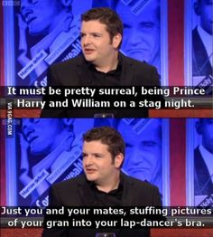 Scottish comedian on Royal Family problems