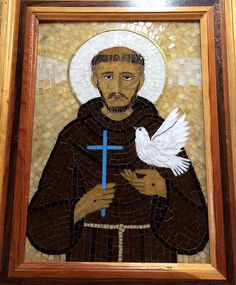 St. Francis of Assisi   by Elsieland Mosaics