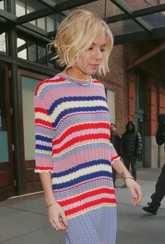 Sienna Miller Wears the Winter Dress of Our Dreams :: Company.co.uk