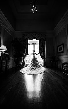 We love this portrait of our Disney bride in her stunning dress.