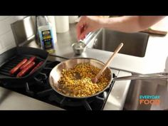 Mexican Charred-Corn Dog | Everyday Food with Sarah Carey