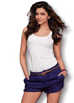 Deepika Padukone White and Purple