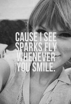 sparks fly my fave taylor song