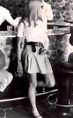 Sylvie in 1968 -     her arm is in a cast because she was in a terrible car accident, thankfully she survived, but the fate would not be the same for her best friend who was in the car with her.