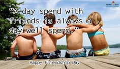 """#True_friends will pick you up when you fall. The bad #friends will have been the one who made you fall in the first place."""" #Happy_Friendship_Day 👍 #Friendship_Day_Quotes http://www.halchalguru.in/"""