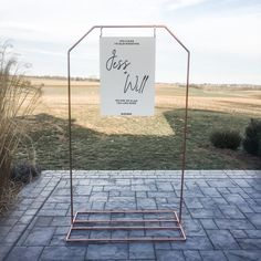 Hexagon Copper Stand //Wedding Welcome Stand//Wedding Sign Stand// Welcome sign Stand //Seating Chart Stand Wedding Signs, Our Wedding, Copper Wedding Decor, Wedding Welcome, Seating Charts, Love At First Sight, Making Out, Special Events, Wedding Events