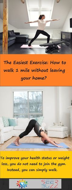 CHECK IT OUT - This is the easiest way to get fit in your home whenever you have some spare time #health #healthcare #fitness #fit #walking