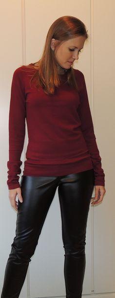 Blusa de malha quentinha pro inverno ;) Tamanhos/cores: P/preta, M/azul marinho e bordô, G/azul marinho