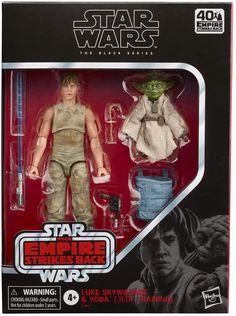 Star Wars Figurines, Star Wars Toys, Jedi Training, Big Battle, Star Wars Luke Skywalker, Star Wars Merchandise, The Empire Strikes Back, Star Wars Collection, Black Series