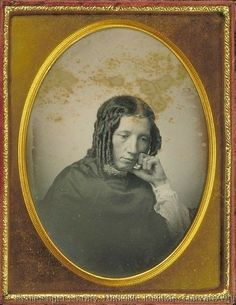 [daguerreotype portrait of Harriet Beecher Stowe] via Harvard University, Schlesinger Library on the History of Women in America, Radcliffe Institute, Beecher-Stowe Family Papers Star Photography, Vintage Photography, Portrait Photography, Victorian Photography, Rare Photos, Old Photos, Women In America, Historical Society, Historical Clothing