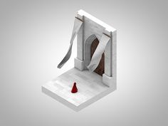 Isometric corners of my life on Behance