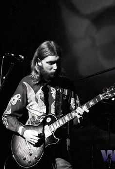 Duane Allman reached a more sizeable level of  fame because of that Clapton album. I prefer his work with the Allman Brothers, both for what he did with slide and standard 'Les Pauling'. He is also a sad entry in the annals of Harley-Davidson.
