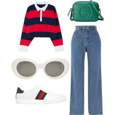 Untitled #233 by stoutjami on Polyvore featuring polyvore, fashion, style, Gucci, Acne Studios and clothing