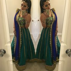 Kyra & Vir offers custom made Indian clothes, tailored to fit you and delivered right to your doorstep at affordable prices. Indian Wedding Outfits, Pakistani Outfits, Indian Outfits, Desi Clothes, Indian Clothes, Wedding Lehnga, Wedding Hair, Kaushal Beauty, Girls Black Dress