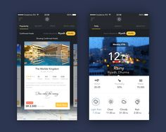 Dribbble - travel-app.png by Anandu Sivan