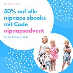 Liebe Leute ich habe tolle News: Es gibt bis morgen Sonntagabend 50% auf alle eBooks von NipNaps! Einfach Code nipnapsadvents eingeben!