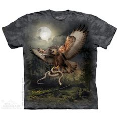 The Mountain - Two Headed Wolfalcon T-Shirt, $20.00 (http://shop.themountain.me/two-headed-wolfalcon-t-shirt/)