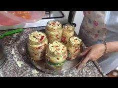 Yağlı sirkeli kırmızı biberli lahana turşusu - YouTube