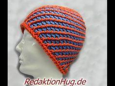 Tunesisch Häkeln - Mütze - Häkelmütze 54 - 56 cm Kopfumfang 7-Meilen-Muster - Veronika Hug, My