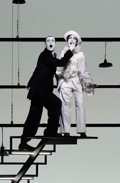 Robert Wilson and the Berliner Ensemble's production of Lulu