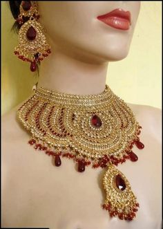 Indian Bridal Jewelry Set-3