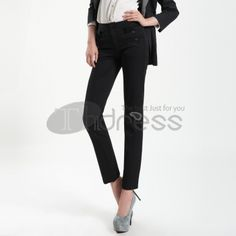 Comfort Stretch Slim Straight pants