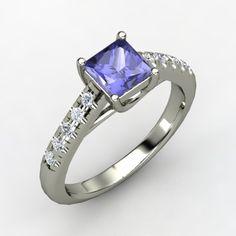 Purple Engagement Ring - LOVE IT!