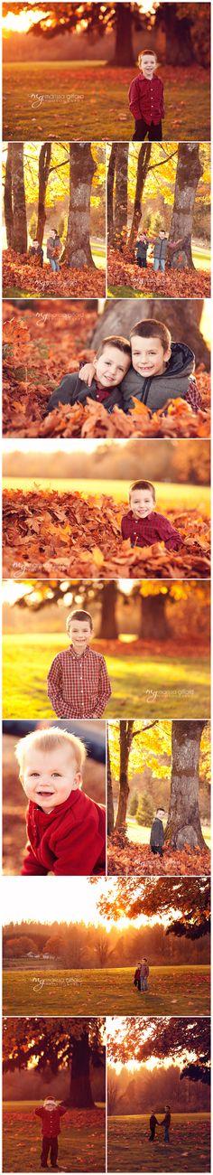 Family photography, child photography, sunset photography, fall photography
