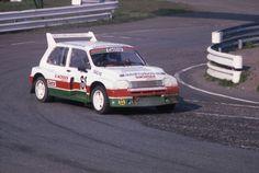 Dagfinn Larsen 6R4 Rally Car, Gallery, Times, Group, Letter Case, Roof Rack