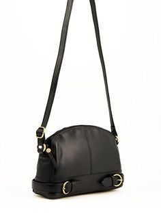 9975c6236491 Ladies Leather Coniston Small Cross Body Bag in Black  Amazon.co.uk