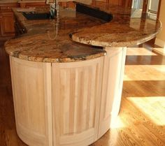 Round Kitchen Island On Pinterest Kitchen Islands