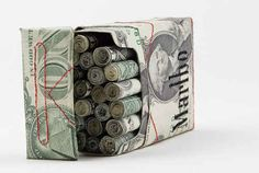 17 Cleverest Crafts Made With Money