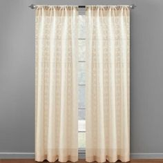 One of my favorite discoveries at ChristmasTreeShops.com: Geometric Oakley Clip Window Curtains, Set of 2