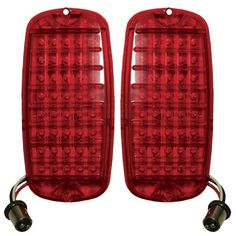 1960-1966 Truck LED Tailight Set, Plugs Into OEM LightSocket
