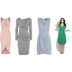 """Wrap dress"" by katellsegalen on Polyvore"