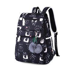 Emoji Backpack, Rucksack Backpack, Laptop Backpack, Black Backpack, Travel Backpack, Shoulder Bags For School, School Bags For Girls, Girls Bags, Girl Backpacks