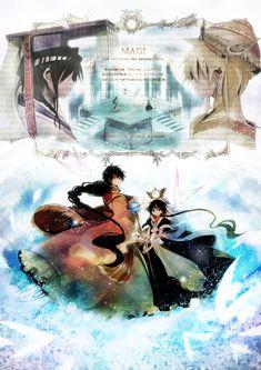 Aladdin, Ali Baba Saluja, Judal & Ren Hakuryuu | Magi: The Labyrinth of Magic #anime