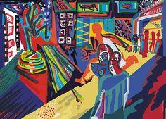 DIGITAL _ pinturas em Ilustração Servido