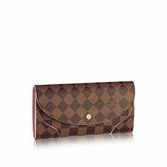 a3485f9db73b Caïssa Wallet Damier Ebene Canvas in Women s Small Leather Goods Wallets  collections by Louis Vuitton