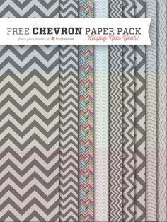 Free Chevron Paper Pack