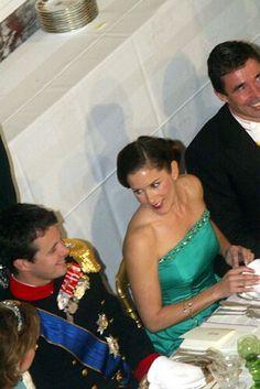 20-21 October 2004 - a visit to the Grand Duchess Maria Teresa and Grand Duke Henri in Denmark: October 20 - private dinner: