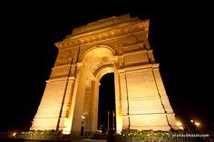 India Gate, At Night