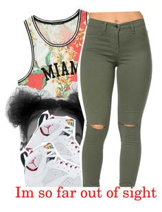"""Look Alive x Rae Sremmurd "" by trapsoul4life ❤ liked on Polyvore featuring Forever 21 and Retrò"
